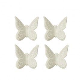 Motýl bílý, 4ks
