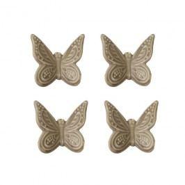 Motýl , 4ks