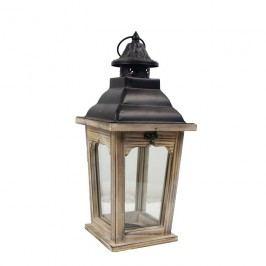 Dřevěná lucerna D1135