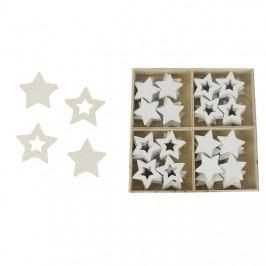 Hvězdičky dřevěné D1170-01