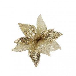 Dekor. květ 15cm, champagne X1661/1