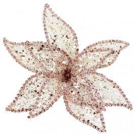 Dekor. květ 20cm, růžový X1659/2