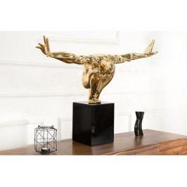 INV Dekorace OLYMPIER I 75cm zlatá