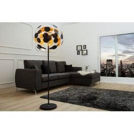 INV Stojací lampa Ideal 170cm černá-zlatá