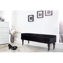 INV Úložná lavice LOPER 110cm černá