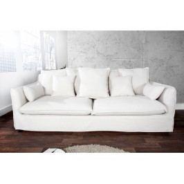 INV Sofa-pohovka Welington třímístná, bílá