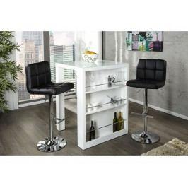 INV Barový stolek Savi bílý