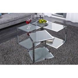 INV Odkládací stolek Kvadro chrom
