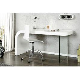 INV Psací stůl ONYX 140cm bílý