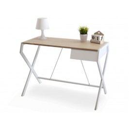 design4life Designový pracovní stůl Glamoro white