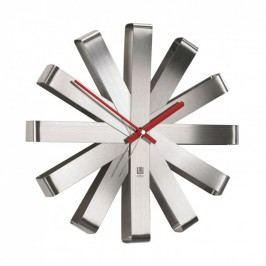 UMBRA RIBBON nástěnné hodiny ocelové Umbra 118070-590