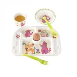 Dětský jídelní set BRANDANI, motiv pejska BRANDANI 56848