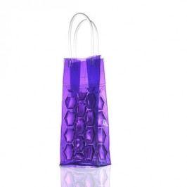 Chladící gelová taška na víno BRANDANI, fialová BRANDANI 56746