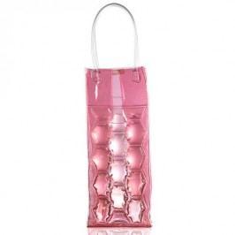 Chladící gelová taška na víno BRANDANI, růžová BRANDANI 56748