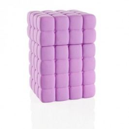 Box na odličovací tampony BRANDANI, fialový BRANDANI 56663