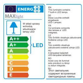 Nástěnné svítidlo Maxlight RAPID, W0150
