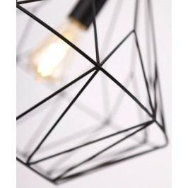 Závěsné svítidlo Maxlight BELL I malé, černé, P0209