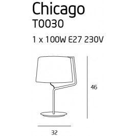 Stolní lampa Maxlight CHICAGO, T0030
