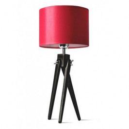 Stolní lampa Lightwood Tripod LW16-05-20 červená
