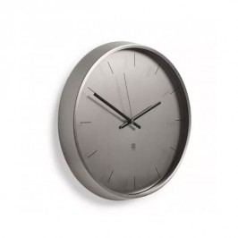 UMBRA Nástěnné hodiny META nikl Umbra 1004385410