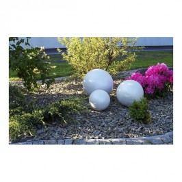 Dekorační koule 22 cm bílá