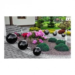 Dekorační koule 30 cm černá