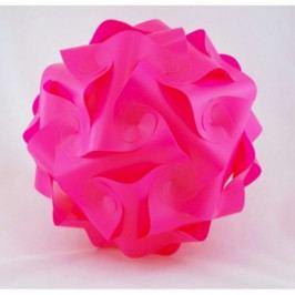 Závěsné svítidlo růžové Konos M AB