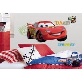 Samolepka auto Blesk - Lightning McQueen. Obrázky Disney Cars 2.