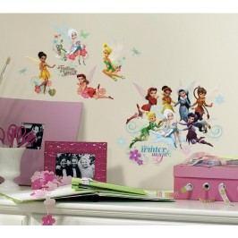 Samolepky a obrázky Disney Fairies. Nálepky Víly Kouzelná křídla.