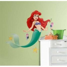 Disney samolepky na zeď. Malá mořská víla Ariel.
