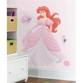 Samolepka Ariel. Dětské Disney obrázky na zeď.