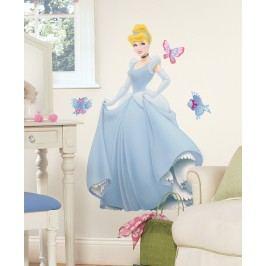 Samolepky Disney Princess. Princezna Cinderella - Popelka.