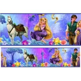 Dívčí bordury Disney Princess Na vlásku - Princezna Rapunzel