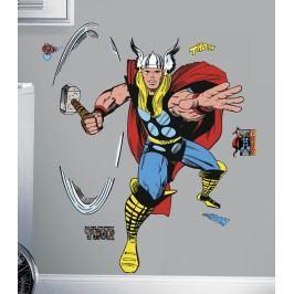 Samolepky hrdinů z komiksů. Obrázek Thor