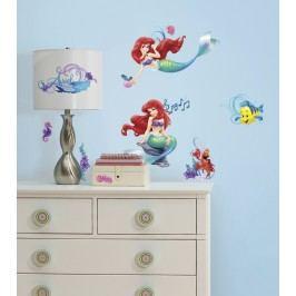 Samolepky na zeď Ariel - Malá mořská víla