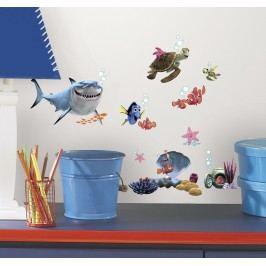 Samolepky Hledá se Nemo. Dekorační obrázky pro děti.