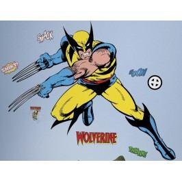 Samolepky na zeď. Obrázky z komiksu Wolverine.