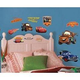 Samolepky Disney Cars. Obrázky Blesk McQueen a kamarádi.