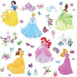 Samolepky a dekorační obrázky Princezny Disney