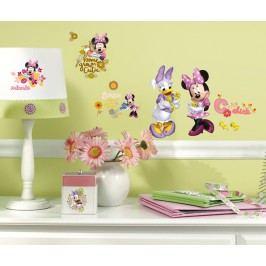 Samolepky a obrázky Disney. Nálepky na zeď Minnie a Daisy.