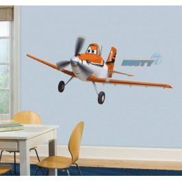 Samolepka Disney Planes Dusty. Letadlo Prášek