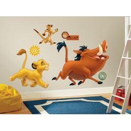 Samolepky Lví král - Simba, Timon, Pumbaa