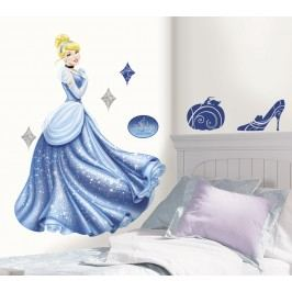 Samolepky na zeď. Princezna Cinderella.
