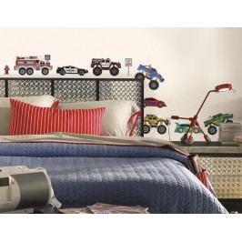RoomMates Dekorační samolepky na zeď. Obrázky  Auta - Trucks.