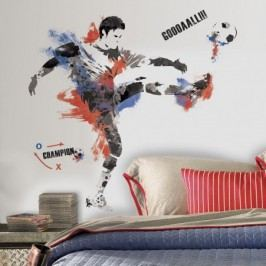 RoomMates Samolepky na zeď. Dekorace Fotbalový šampionát.