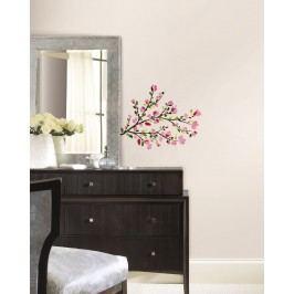 RoomMates Samolepka Větev stromu růžové květenství