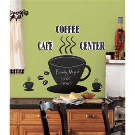 Samolepky Tabule Káva