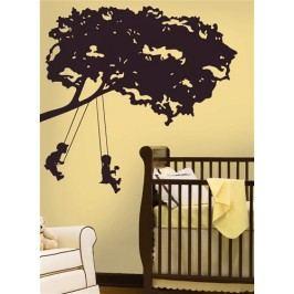 Samolepící obrázky stromů - samolepka Větev a děti