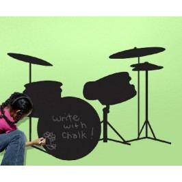 Samolepky Tabule bubny - samolepící dekorace