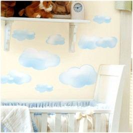 Samolepky na zeď - dekorace obrázky Mráčky